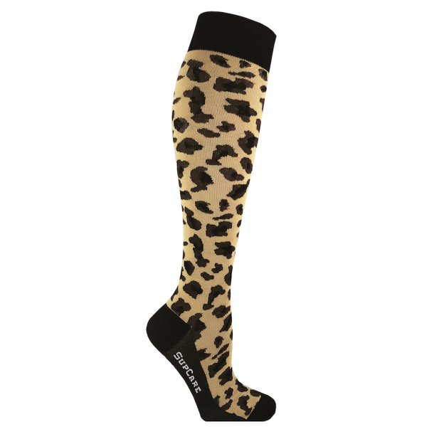 Compression stockings, leopard