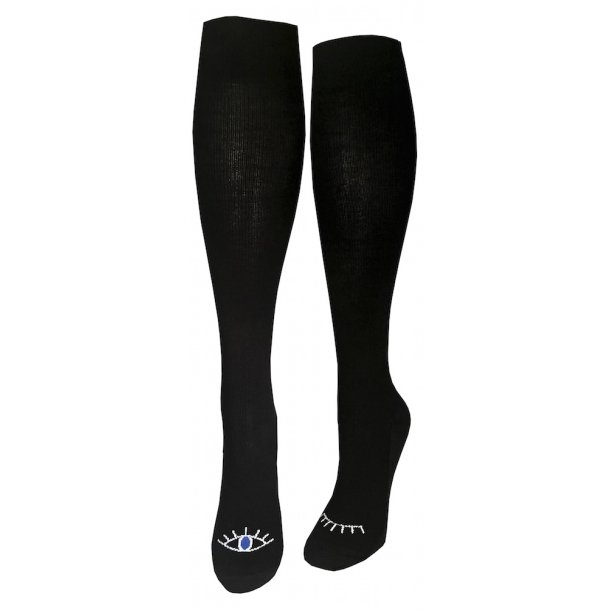 Compression stockings black, wink-wink