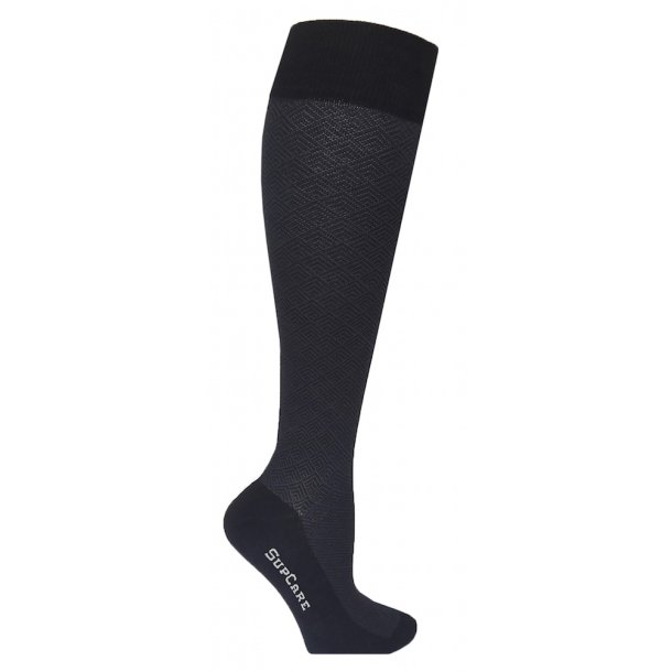 Compression stockings bamboo Gray pattern