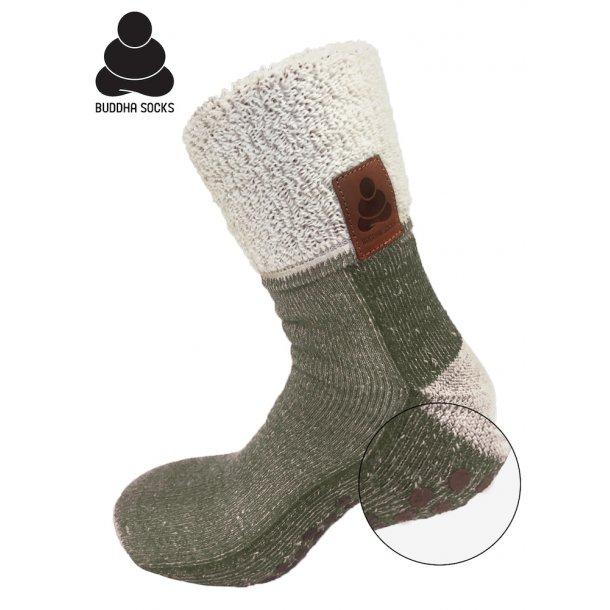 Buddha Socks, green