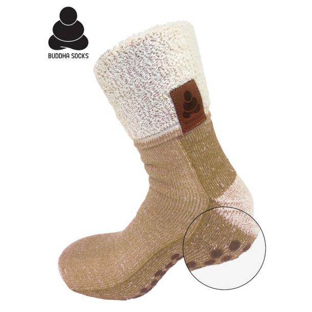 Buddha Socks, khaki