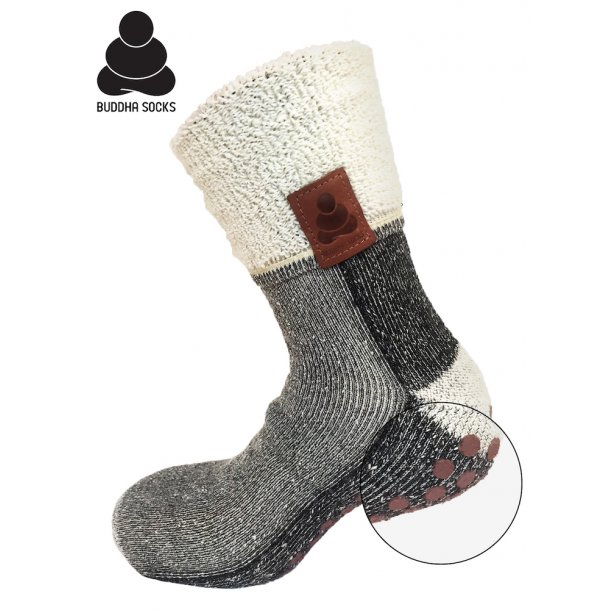 Buddha Socks Black