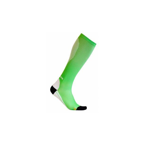 Compression socks soft cushioning ( light green )
