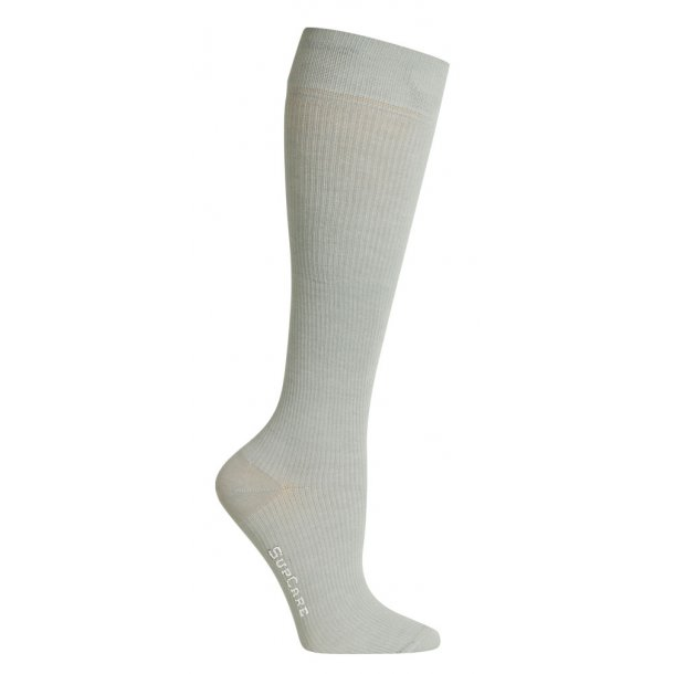 Compression stockings grey with Bamboo fibers