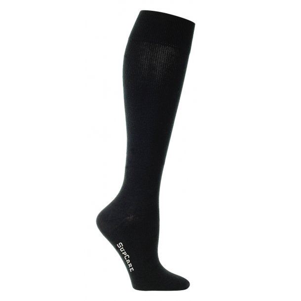 Compression stockings bamboo, black