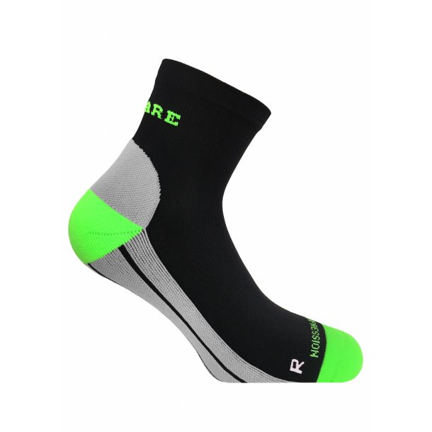 SupCare compression socks (short), black and green