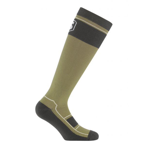 Compression stockings, sport, green