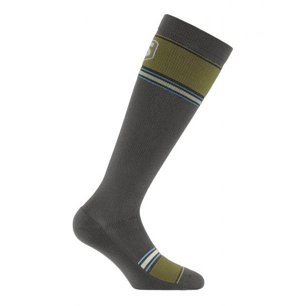 Compression stockings, sport, grey