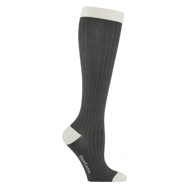 Compression stockings class 2, needle stripe