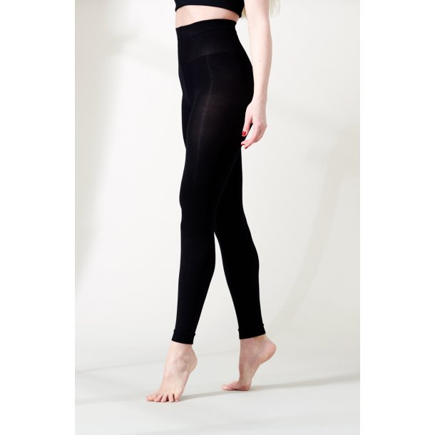 Compression leggings, black, 180 Den