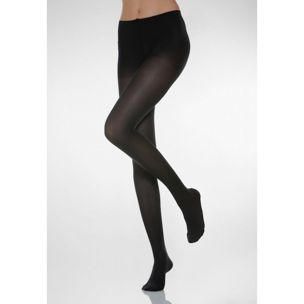 Compression tights Microfiber, Black 140 Den
