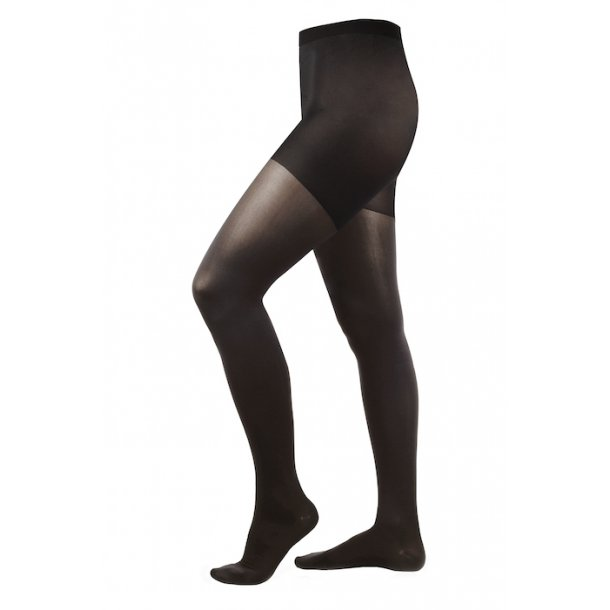 Compression tights class 2, AT, black, with toe (140 D)