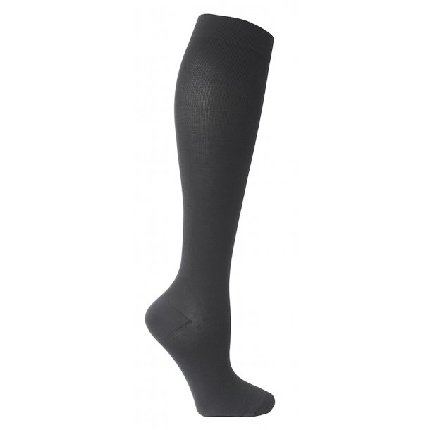 Compression stockings class 2, AD, grey, with toe (140 D)