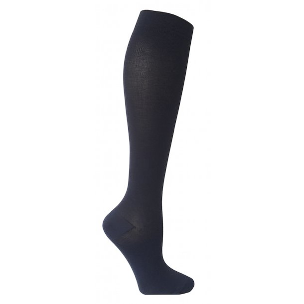 Compression stockings class 2, AD, blue, with toe