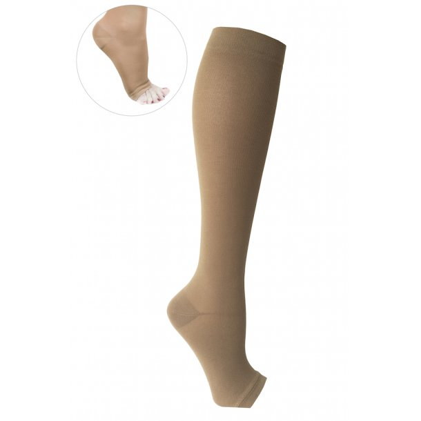 Compression stockings class 2, AD, soleil, without toe (140 D)