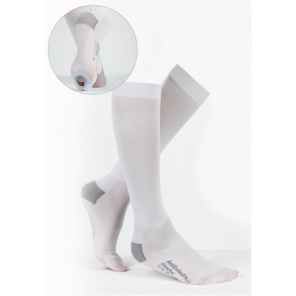 Anti-Embolism Elastic stockings AD white