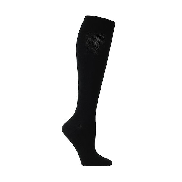Compression stockings class 2, AD, black, with toe (140 D)
