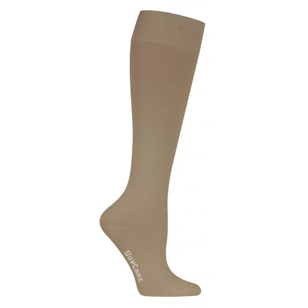 Compression stockings beige