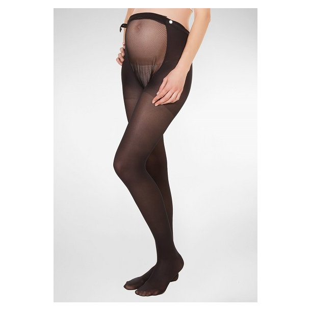Maternity Tights, black, 140 Denier