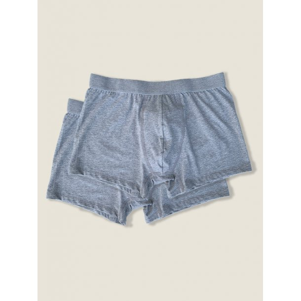 Boxers, 2 pack, grey