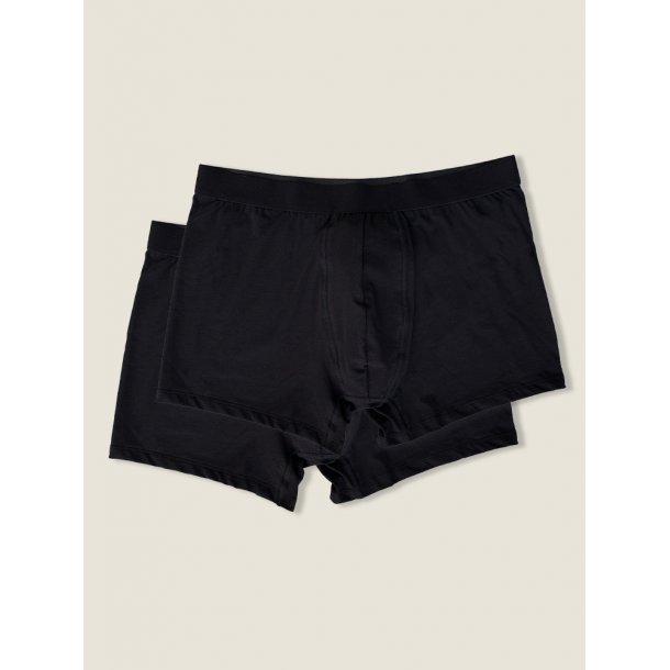 Boxers, 2 pack, black